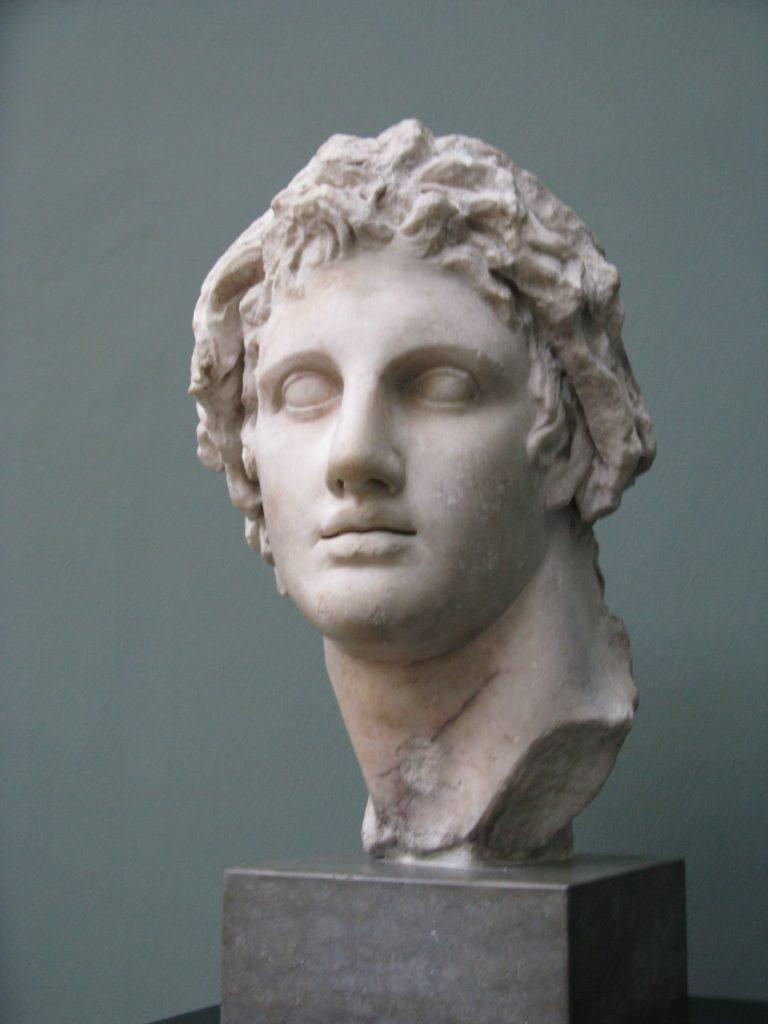 Alexandre le Grand statue