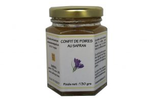 confit de poires au safran