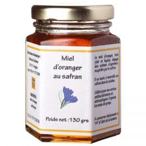 Miel d'oranger au safran