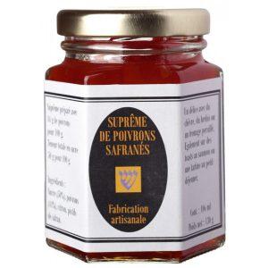 Supreme de poivrons safrané