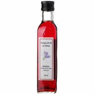 Vinaigre de vin au safran